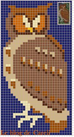 free cross stitch owl