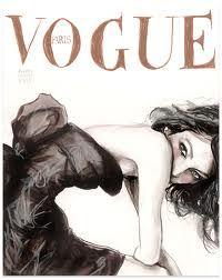 vogue drawing