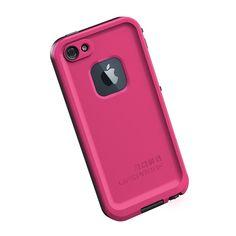 Lifeproof IPhone 5 case- Magenta / Black