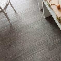 Kitchen floor---Wood effect tiling