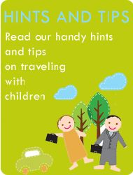 Tips on travelling with children