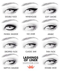 Unique Eyeliner Styles