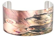 """Cuff bracelet inspired by Edgar Degas famous painting """"The Prima Ballerina""""."""