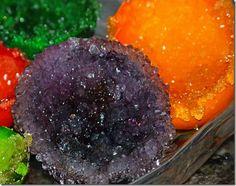 making crystals, fun idea, crystal egg, martha stewart kids, colors, school stuff, egg geod, crystal geod, eggshel geod