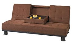 Futón Café  #Futon #Sofa #Mueble #Cafe  #Departamento #HomeStyle