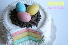Easter cake baking tips, ball, coconut, layer cakes, cake tips, easter cake, easter eggs, easter cupcakes, cake recipes