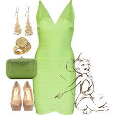 cloth, untitl 67, theglasshous, green dress, lime green