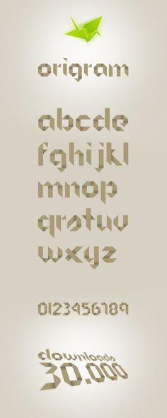 Font - Origram