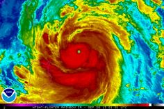 Super Typhoon Usagi heads for China!  Typhoons are the same as hurricanes.  They're just called something different in the western Pacific.  http://www.ssd.noaa.gov/PS/TROP/floaters/17W/imagery/rb0.jpg