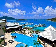 Scrub Island Resort Spa at British Virgin Islands for $375/night... hello sunshine.