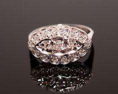 Vintage princess ring.  These are so hard to find!... I want for Christmas, love them!!