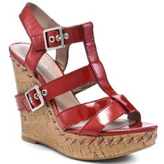 Imania Wedge - Ruby #shoes