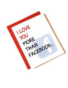 Who do you love more than Facebook?