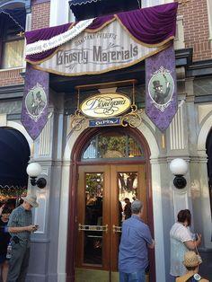 Haunted Mansion 45th anniversary art gallery at Disneyland by insidethemagic, via Flickr