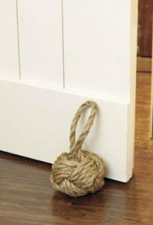 How to make a rope bookend
