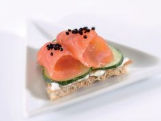 'Olas' de salmón #recipes #cuisine