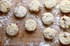 Brown Sugar and Bacon Biscuits