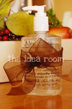 Personalized Hand Sanitizer Bottles