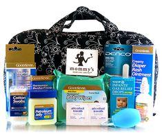 MVP baby shower gift: medicine cabinet supplies