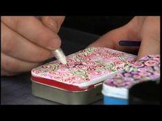 Decorate & Reuse Mint Tins
