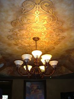 dress your ceilings up