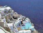 Spectacular views from our Santorini Hotel included in the Greek Island Package- Athens, Mykonos, Santorini mykonos, infin pool, athens, islands, island honeymoon, honeymoons, honeymoon packag, greek island, santorini