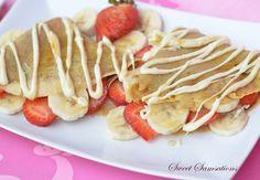 Strawberry Banana Easy Crepe Recipe