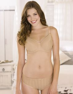 Serene Bra by Fantasie from Bravissimo in Nude  Bra available in sizes 30-40 D - G cup; 30-38 H - JJ cup; £35.00  Matching brief or thong available separately