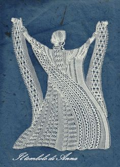 The Gipsy of lace. Anna Flisi.  Love this design and appreciate very much the skill of the construction.