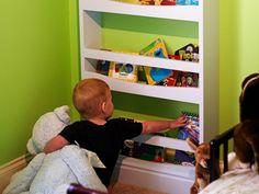 Love this DIY bookcase!