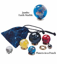 Collector Planet Marbles