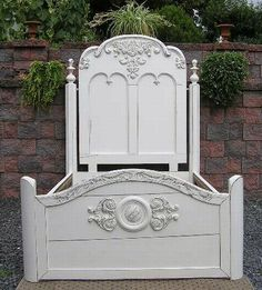 Shabby Cottage Chic Full Double Wedding bed by via picks4u