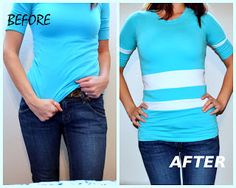 lengthen shirt idea this is really cute:)