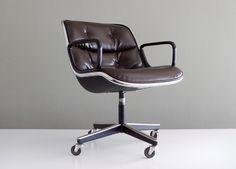 Knoll International Charlie Pollock Executive Chair. $440.00, via Etsy.