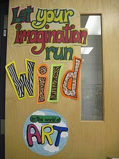 great idea for a door or bulletin board
