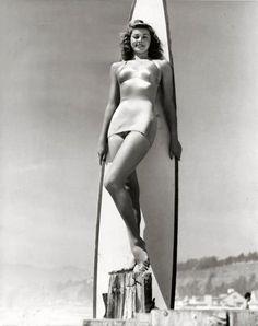 Surfer girl...