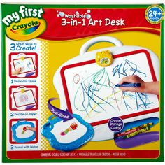 My First Crayola 3-in-1 Art Desk