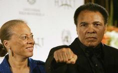"""After three failed marriages, boxing icon Muhammad Ali married Yolanda """"Lonnie"""" Ali in 1986, and they've been together ever since. The couple had been friends since 1969, and Lonnie has been an active supporter of Parkinson's disease research since her husband's diagnosis in 1984."""