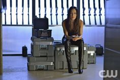 Nikita -- Invisible Hand -Pictured: Maggie Q as Nikita -- Credit: Sven Frenzel/The CW --  2013 The CW Network. All Rights Reserved
