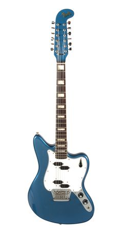 "Elvis Presley ""Clambake"" Film & Recording Guitar: A Fender XII lake placid blue electric 12-string guitar"