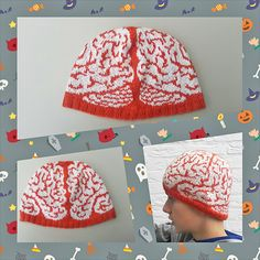 Ravelry: Brainz Hat pattern by Ingrid Carré