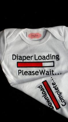 @Ken Feldman Feldman Marshall Baby Boy Clothes Funny Onesie Embroidered  with Chicks by LilMamas, $16.50
