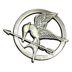 The Hunger Games Movie Mockingjay Prop Rep Pin by NECA  (83)Buy new: $14.99  $12.48 74 used & new from $6.00(Visit the Best Sellers in Novelty & Special Use list for authoritative information on this product's current rank.)