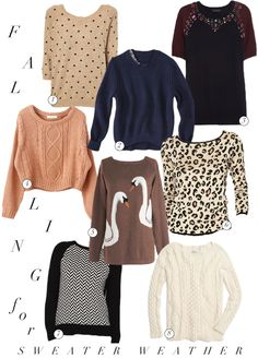 Cozy knits for fall