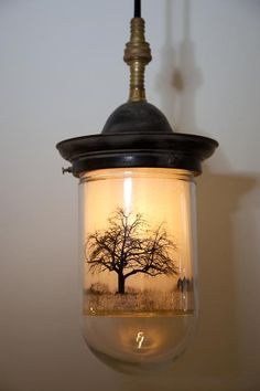 interesting (DIY idea, with a Mason jar)