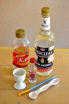 How to make a shiny glaze for fondant.