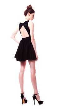 I want a backless dress!! why are they so cute?