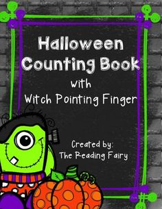 Halloween Counting Book with Witch Pointing Finger! from The Reading Fairy on TeachersNotebook.com -  (15 pages)  - Halloween Counting Book perfect for little ones! Easy to count and read, comes with a witch finger perfect for using to read the sentences!