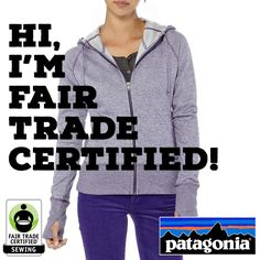 Your closet is about to get a whole lot FAIR-er: Welcome to the #FairTrade family @patagonia!  Enter #WIN one of Patagonia's Fair Trade styles here: http://fairtrd.us/1tPfdFT #fashion #ecofashion #giveaway #apparel #announcement #BeFair