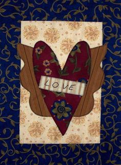 Love is in the Air ... by Pat Sloan  http://patsloan.typepad.com/quiltershome/2007-2008-single-free-patterns.html
